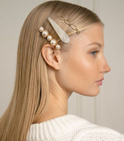 barrettes hair pin trend 2019