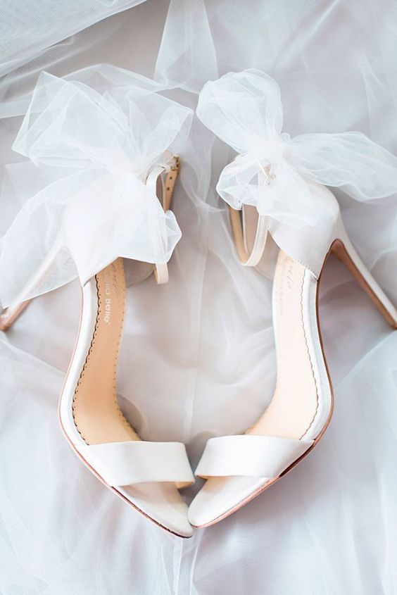 statement shoes for the bride