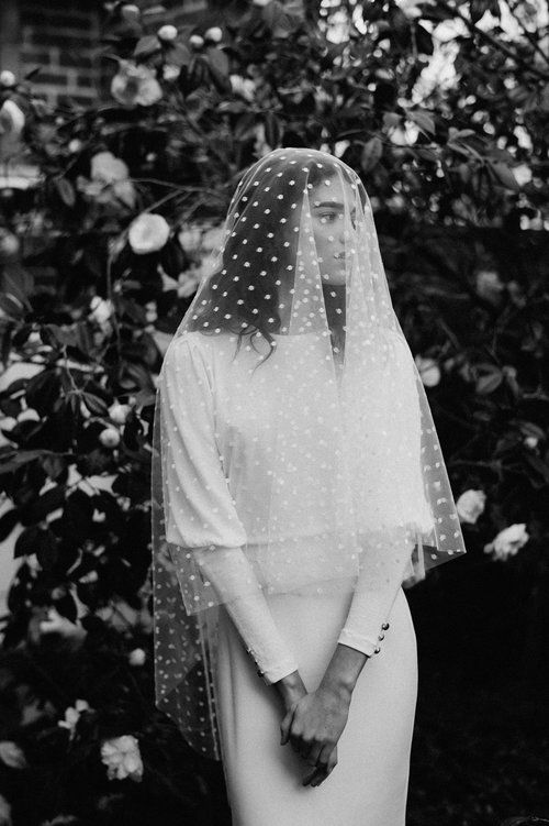 statement veil for wedding day