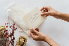 upcycled lace packaging
