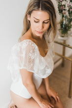 bridal bodysuit embellished