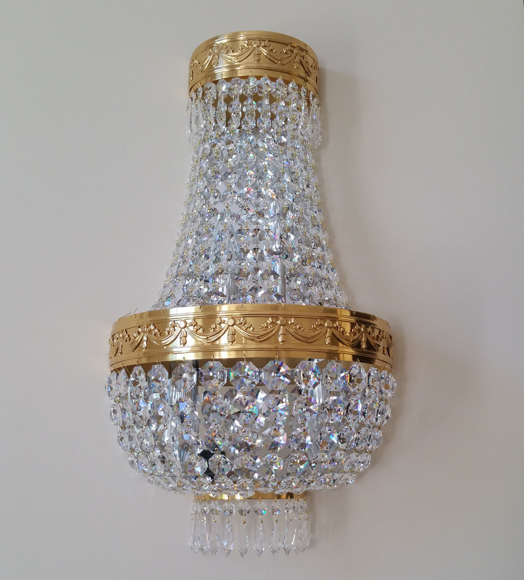 Tent & Bag Wall Bracket Dressed In Swarovski - David Malik & Son