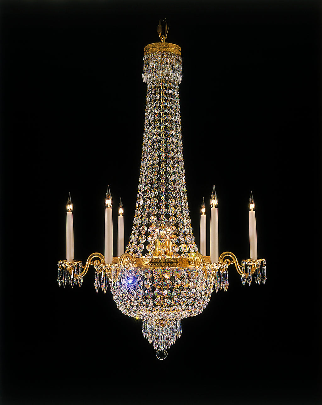 Classical Chandelier Empire Style - David Malik & Son