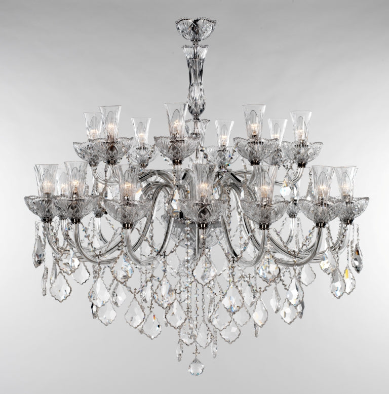 Mansion House Chandelier 24 Light - David Malik & Son