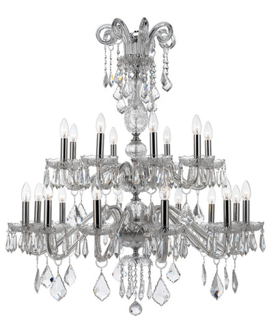 Osterley Chandelier 20 Light - David Malik & Son
