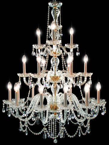 Buckingham Chandelier 21 Light - David Malik & Son