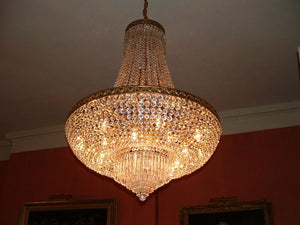 Tent and Bag Chandelier - David Malik & Son