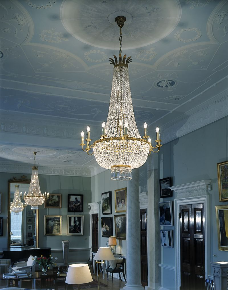 Empire Style Chandelier - David Malik & Son