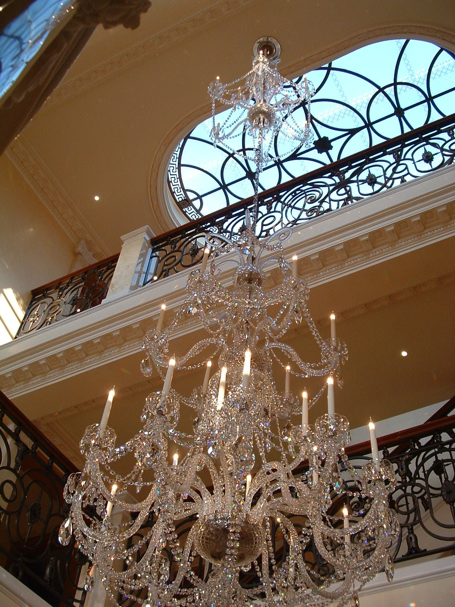 Two Tier Chandelier - David Malik & Son
