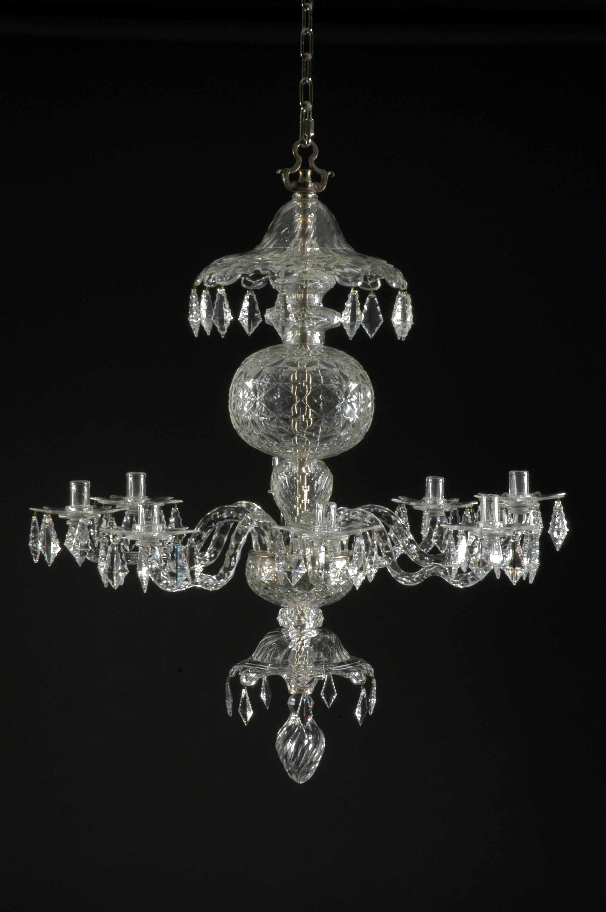reputable site cd107 10e8d Georgian Chandelier Reproduction