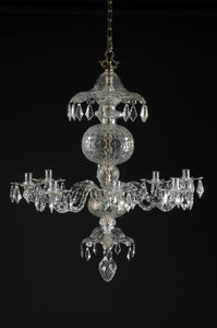 Georgian Chandelier Reproduction - David Malik & Son