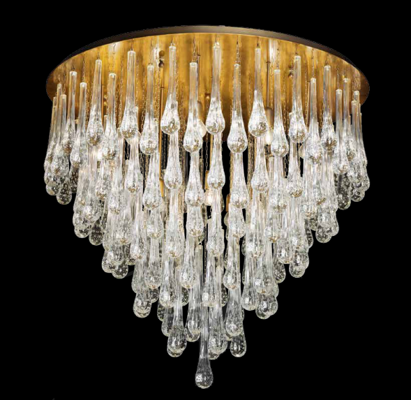 Dulwich drop chandelier
