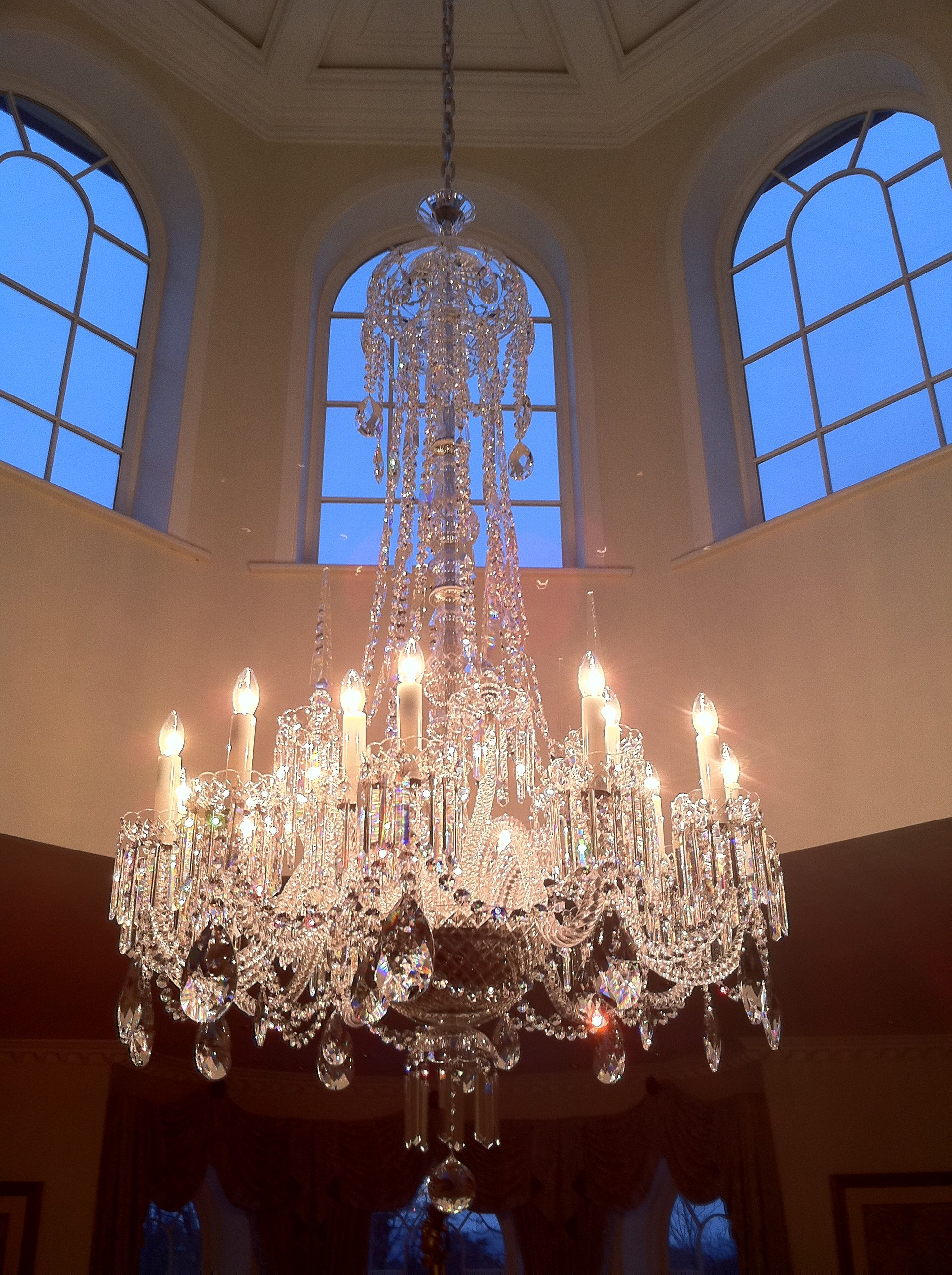 Bespoke 007 Chandelier - David Malik & Son