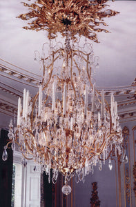 Grand French Style Chandelier - David Malik & Son