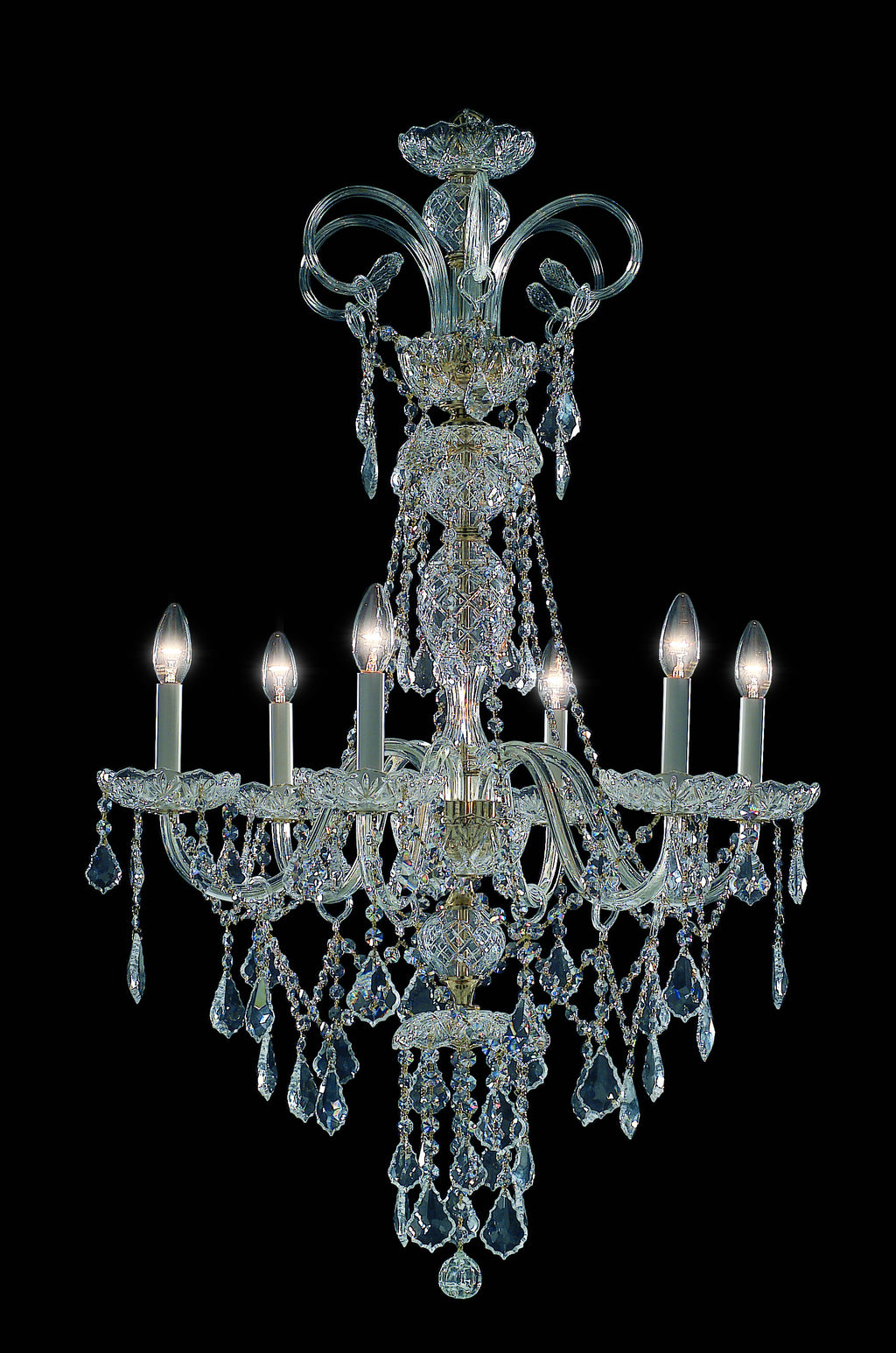 Richmond Chandelier 6 Light - David Malik & Son
