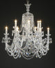 Chandelier with 12 Arms, Swarovski Crystal Dressing - David Malik & Son