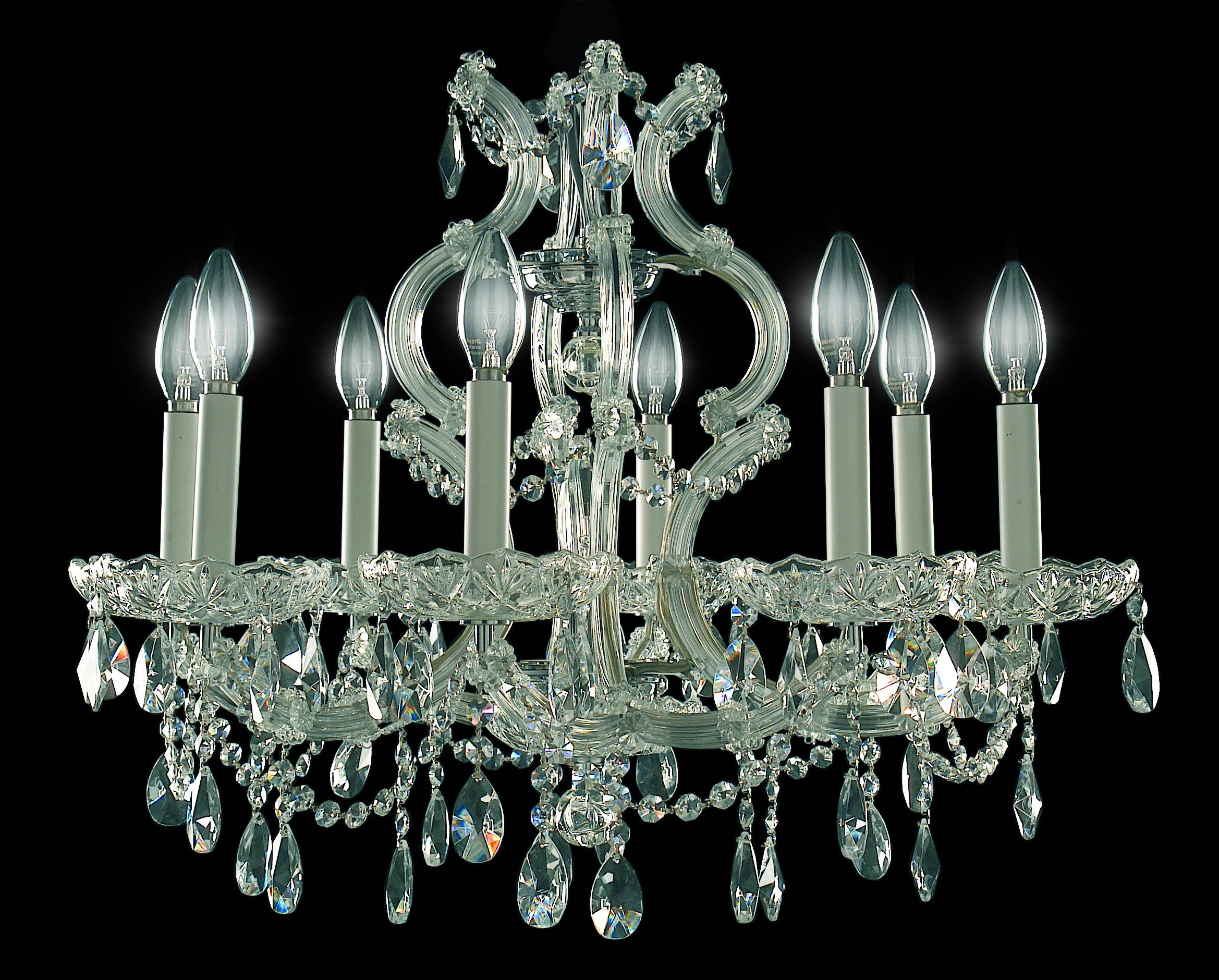 Queensway Chandelier 9 Light - David Malik & Son