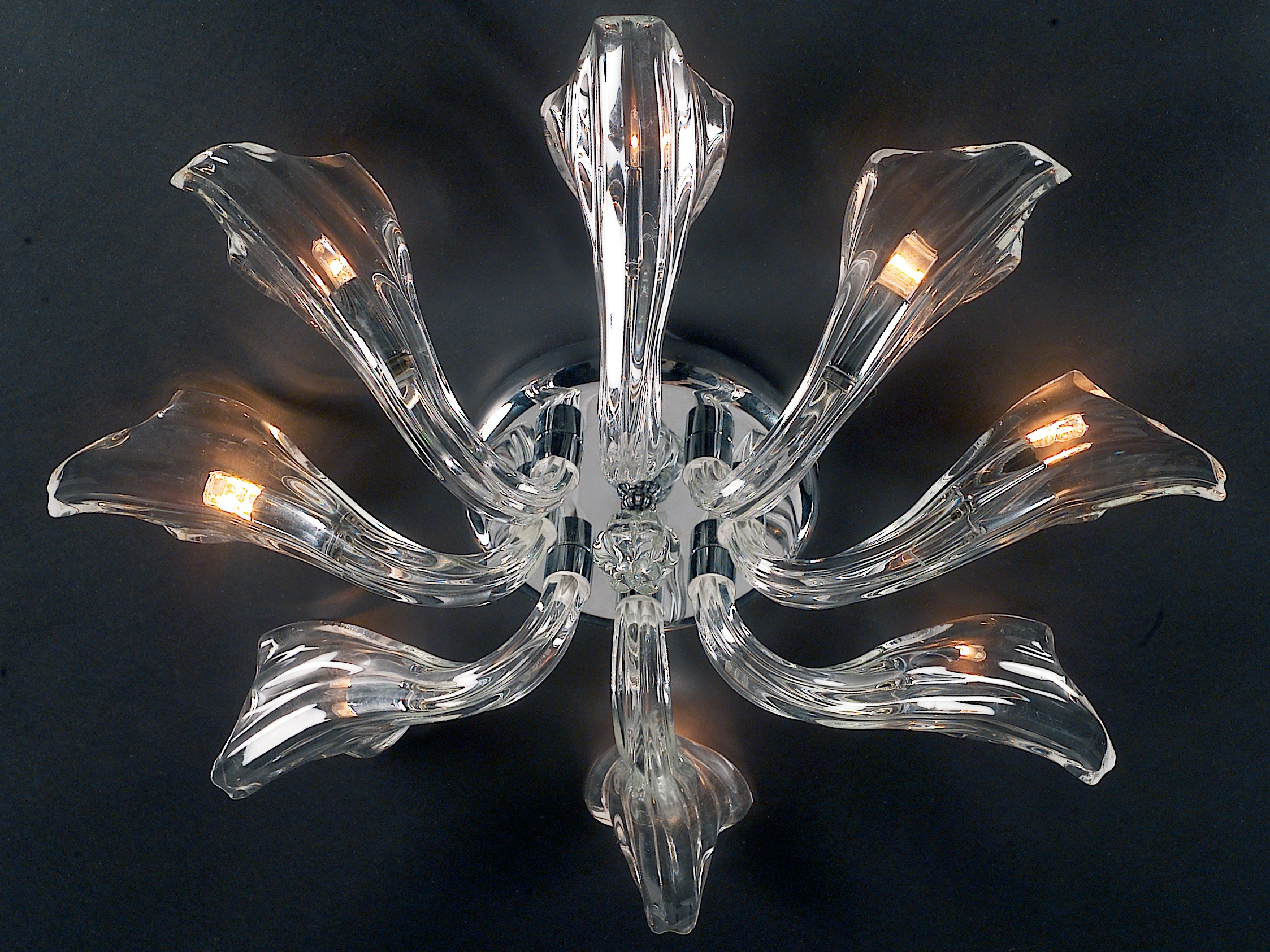 Oakwood  Chandelier 8 Light - David Malik & Son