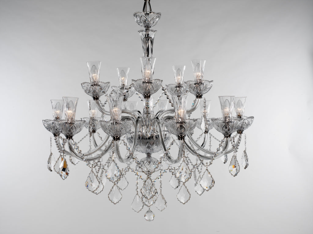 Mansion House Chandelier 15 Light - David Malik & Son