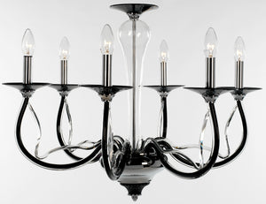Perivale Chandelier 6 Light - David Malik & Son