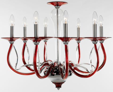 Perivale Chandelier 8 Light - David Malik & Son