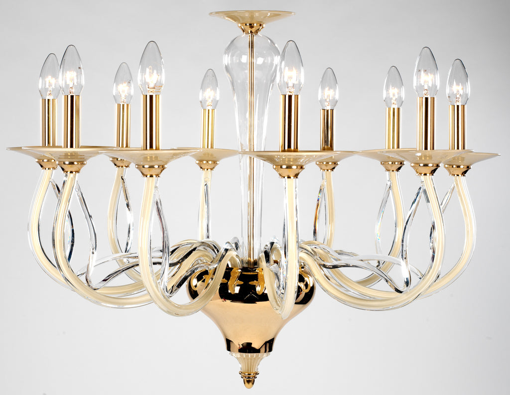 Perivale Chandelier 10 Light - David Malik & Son