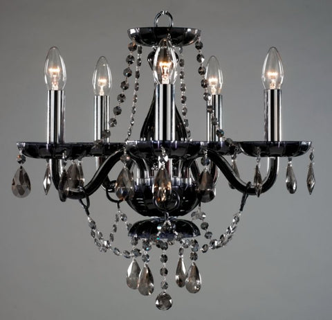 Buckingham Chandelier 5 Light - David Malik & Son