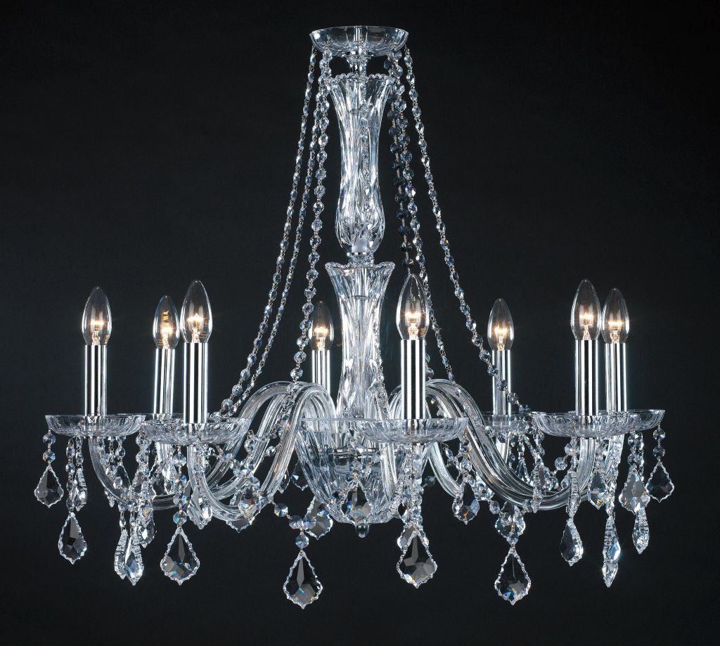 Hainault Chandelier 8 Light - David Malik & Son