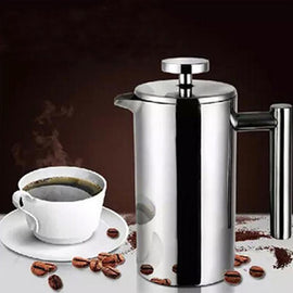 Double Wall Coffee Maker