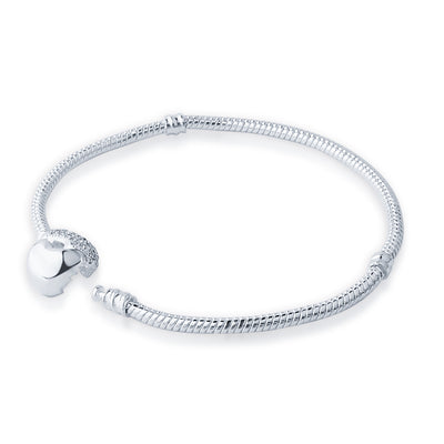 Silvery Snake Chain