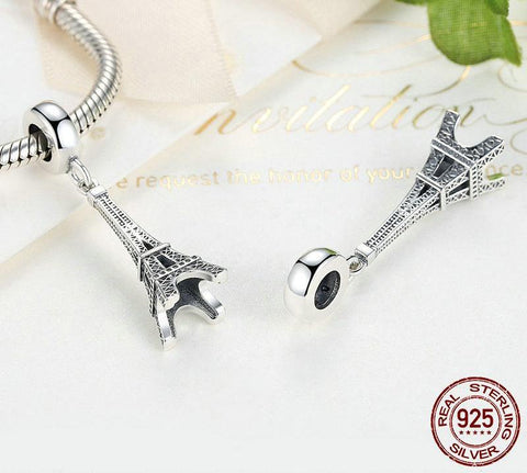 Eiffel Tower Charm Beads