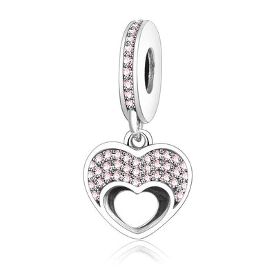Summer Collection Opulent Heart Charm