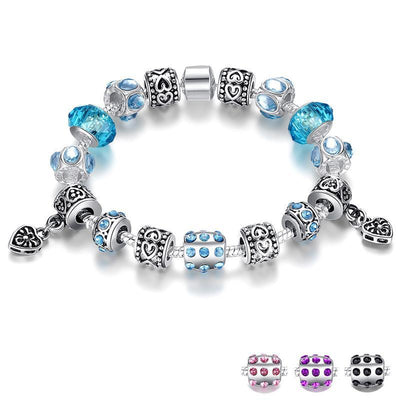 Blue Murano Glass Beads Jewelry