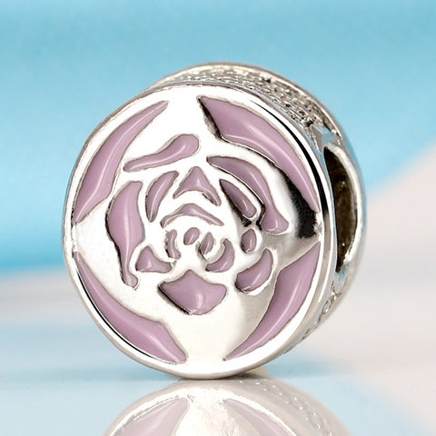 Silver Plated Bead Charm