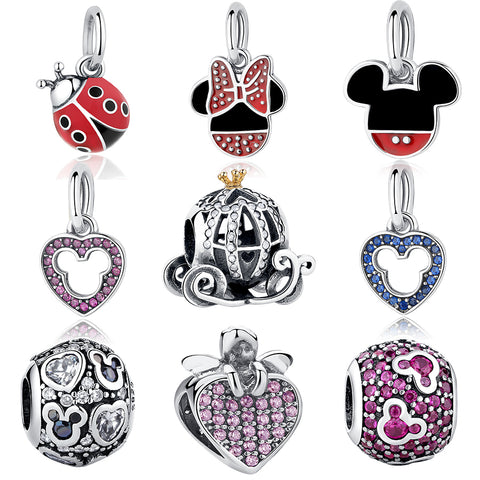 Mickey Shape Charm Beads