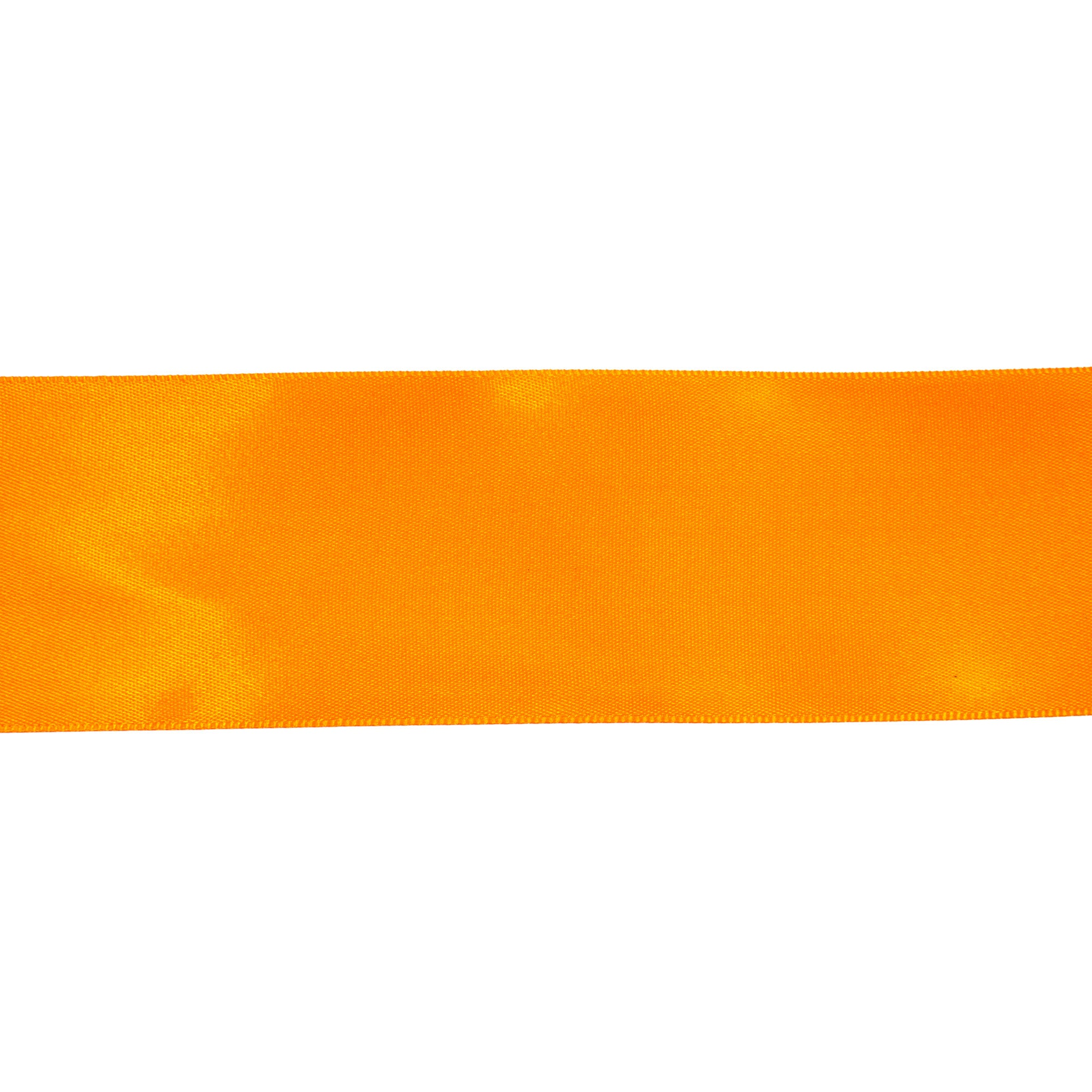 Satinband - 53mm orange 10