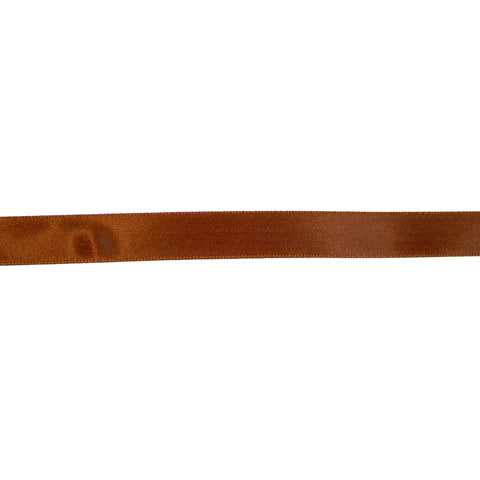 Satinband - 13mm Brun 19