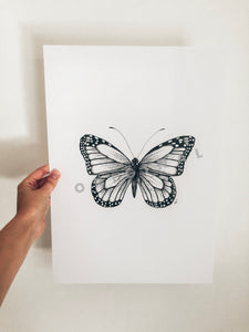 Hand drawn Fauna Prints