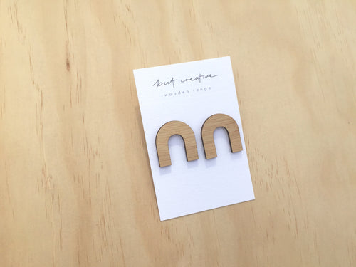 Bamboo Wood Arch Studs