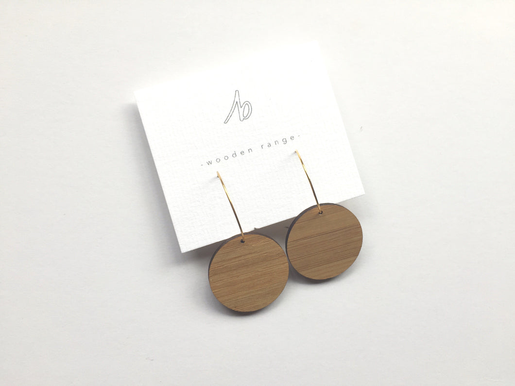 Wooden Circle Hoops