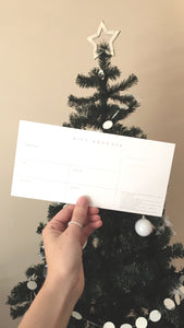 GIFT VOUCHER - choose your price