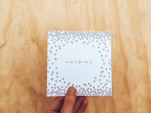 Greeting Card - Wedding
