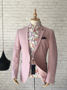 Dusty Pink Sports Jacket