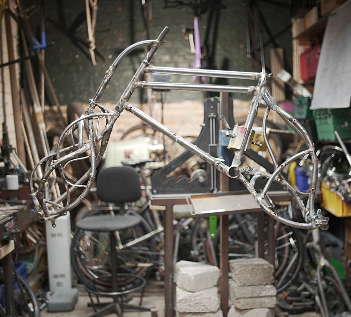 The Bicycle Academy - Bicycle frame building courses and tools