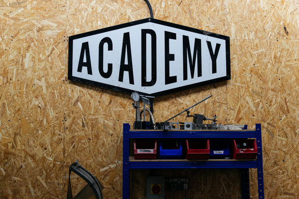 Academy Tools Sign