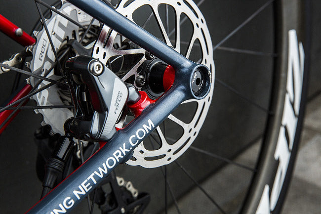 GCN Bespoke Road Bike, GCN How to build a bike, Sram 1X custom road bike, Fillet brazed road bike, Zipp build kit