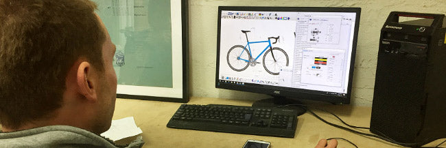 Learn how to use Bikecad, fundamentals of bicycle frame design, how to design a bike