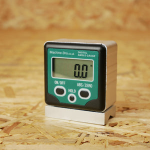 Digital Angle Gauge with Magnetic V-Groove Base