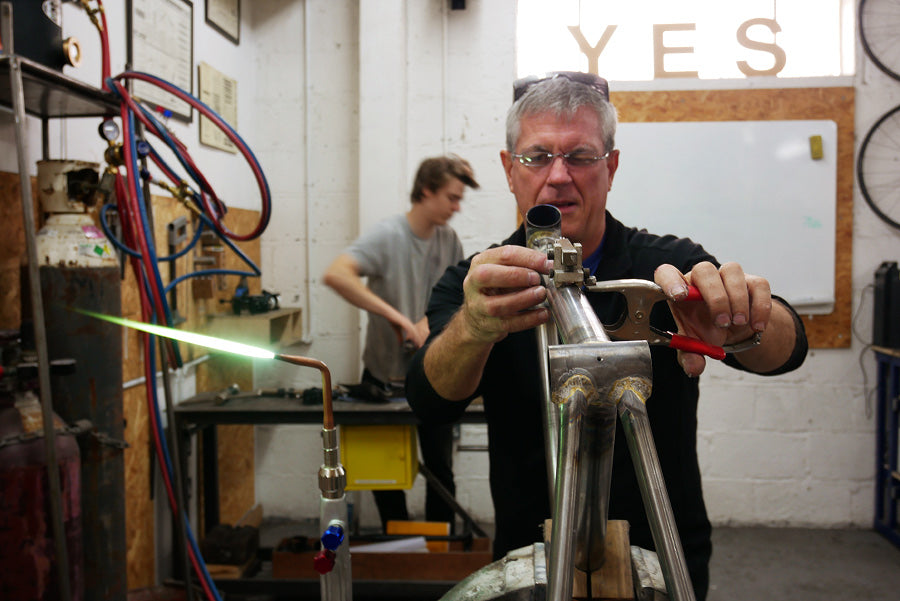 10 Day Bespoke Frame Building Course