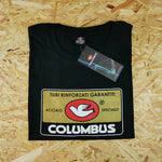 Columbus Label Black T-shirt